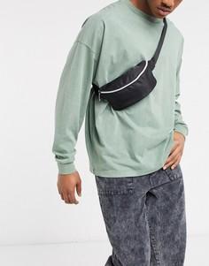 Черная сумка-кошелек на пояс Mi-Pack экслюзивно для ASOS-Черный