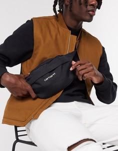 Черная сумка-кошелек на пояс Carhartt WIP-Черный