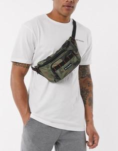 Камуфляжная сумка-кошелек на пояс Columbia-Зеленый