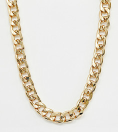 Позолоченное ожерелье-цепочка Reclaimed Vintage Inspired-Золотой