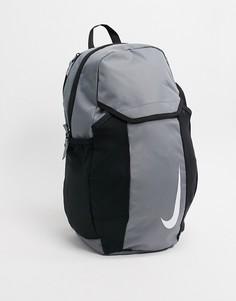 Серый рюкзак Nike Football
