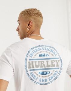 Белая футболка Hurley-Белый