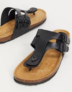 Черные сандалии Brave Soul-Черный