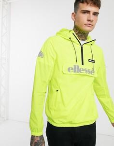 Флуоресцентно-желтая куртка с молнией ellesse-Желтый