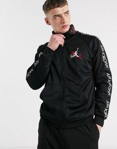 Черная спортивная куртка с логотипом Nike Jordan Jumpman Air-Черный