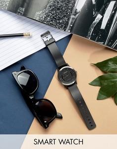 Черные спортивные смарт-часы Garmin Vivomove-Черный