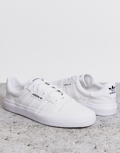 Белые кроссовки adidas Originals 3MC-Белый