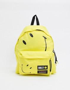 Желтый рюкзак объемом 24 л Eastpak X Smiley PakR