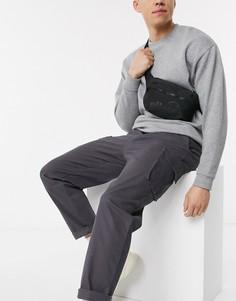 Монохромная сумка-кошелек на пояс ellesse-Черный