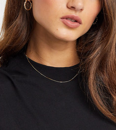 Позолоченное ожерелье-чокер Orelia-Золотой