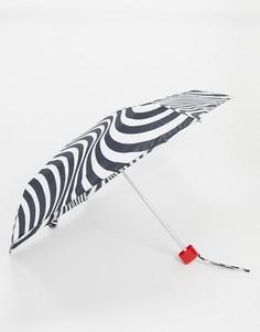 Зонт в полоску Lulu Guinness-Мульти