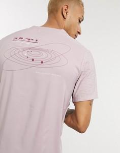 Розовая футболка Nike Running Rise 365-Розовый