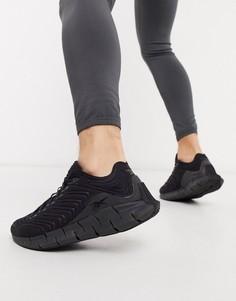 Черные кроссовки Reebok Zig Kinetica-Черный