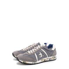 Кроссовки Premiata Комбинированные кроссовки Lucy на шнуровке Premiata