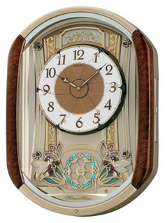 Настенные часы Seiko Clock QXM157B. Коллекция Интерьерные часы