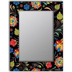 Настенное зеркало Дом Корлеоне Цветочный фейерверк 65x80 см
