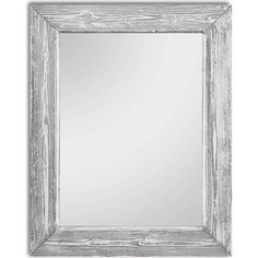 Настенное зеркало Дом Корлеоне Шебби Шик Серый 65x65 см