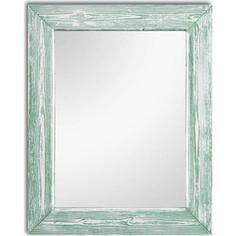 Настенное зеркало Дом Корлеоне Шебби Шик Зеленый 90x90 см