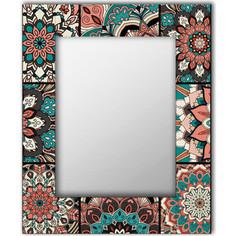 Настенное зеркало Дом Корлеоне Бохо Шик 90x90 см