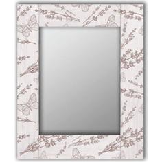 Настенное зеркало Дом Корлеоне Бабочки 55x55 см