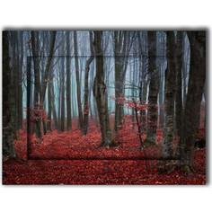 Картина с арт рамой Дом Корлеоне Сказочный лес 35x45 см