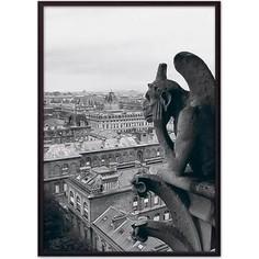 Постер в рамке Дом Корлеоне Гаргулья Нотр-Дам 30x40 см