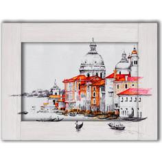Картина с арт рамой Дом Корлеоне Венеция 60x80 см