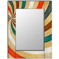 Настенное зеркало Дом Корлеоне Фейерверк 55x55 см