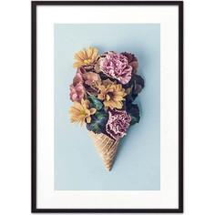 Постер в рамке Дом Корлеоне Цветочное мороженое 21x30 см