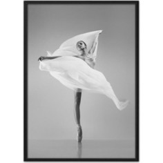 Постер в рамке Дом Корлеоне Балерина с вуалью 30x40 см