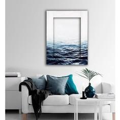 Картина с арт рамой Дом Корлеоне Вода 80x100 см