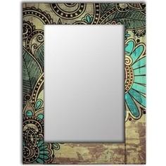 Настенное зеркало Дом Корлеоне Дейзи 55x55 см