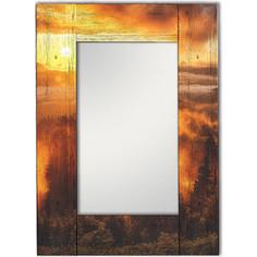 Настенное зеркало Дом Корлеоне Шервуд 75x110 см