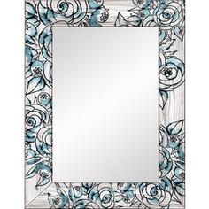 Настенное зеркало Дом Корлеоне Флёр 75x140 см