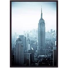 Постер в рамке Дом Корлеоне Эмпайр Стейт Билдинг 30x40 см