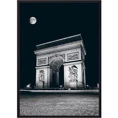 Постер в рамке Дом Корлеоне Триумфальная арка ночью 30x40 см
