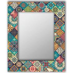 Настенное зеркало Дом Корлеоне Арабская плитка 90x90 см