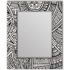 Настенное зеркало Дом Корлеоне Трайбл 80x80 см
