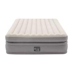 Надувная кровать Intex 64164 Prime Comfort Elevated 152х203х51 см встроенный насос 220V,