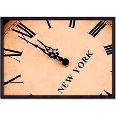 Постер в рамке Дом Корлеоне Часы Нью-Йорк 30x40 см
