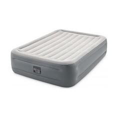 Надувная кровать Intex 64126 Essential Rest Airbed 152х203х46 см встроенный насос 220V,