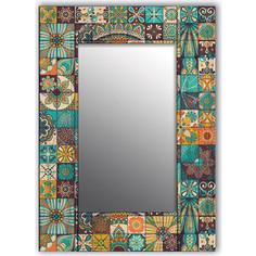 Настенное зеркало Дом Корлеоне Мозаика 90x90 см