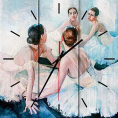 Настенные часы Дом Корлеоне Юные балерины 60x60 см