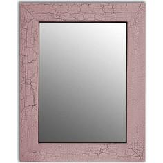 Настенное зеркало Дом Корлеоне Кракелюр Розовый 75x110 см