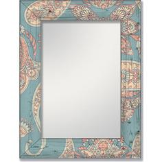 Настенное зеркало Дом Корлеоне Пейсли 65x65 см