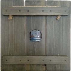 Настенные часы Дом Корлеоне Цветной циферблат 30x30 см