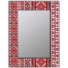 Настенное зеркало Дом Корлеоне Красная заря 80x80 см