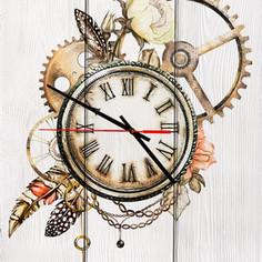 Настенные часы Дом Корлеоне Ход времени 60x60 см