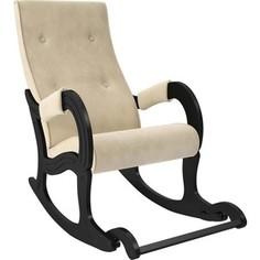 Кресло-качалка Мебель Импэкс Модель 707 венге, ткань Verona vanilla