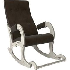 Кресло-качалка Мебель Импэкс Модель 707 дуб шампань/патина, ткань Verona wenge